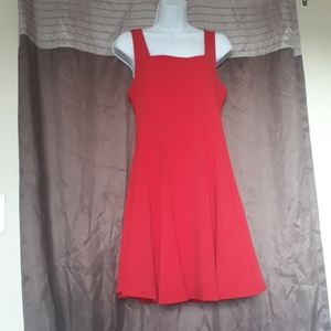 Forever21+ Red Sleeveless Skater Dress size XL